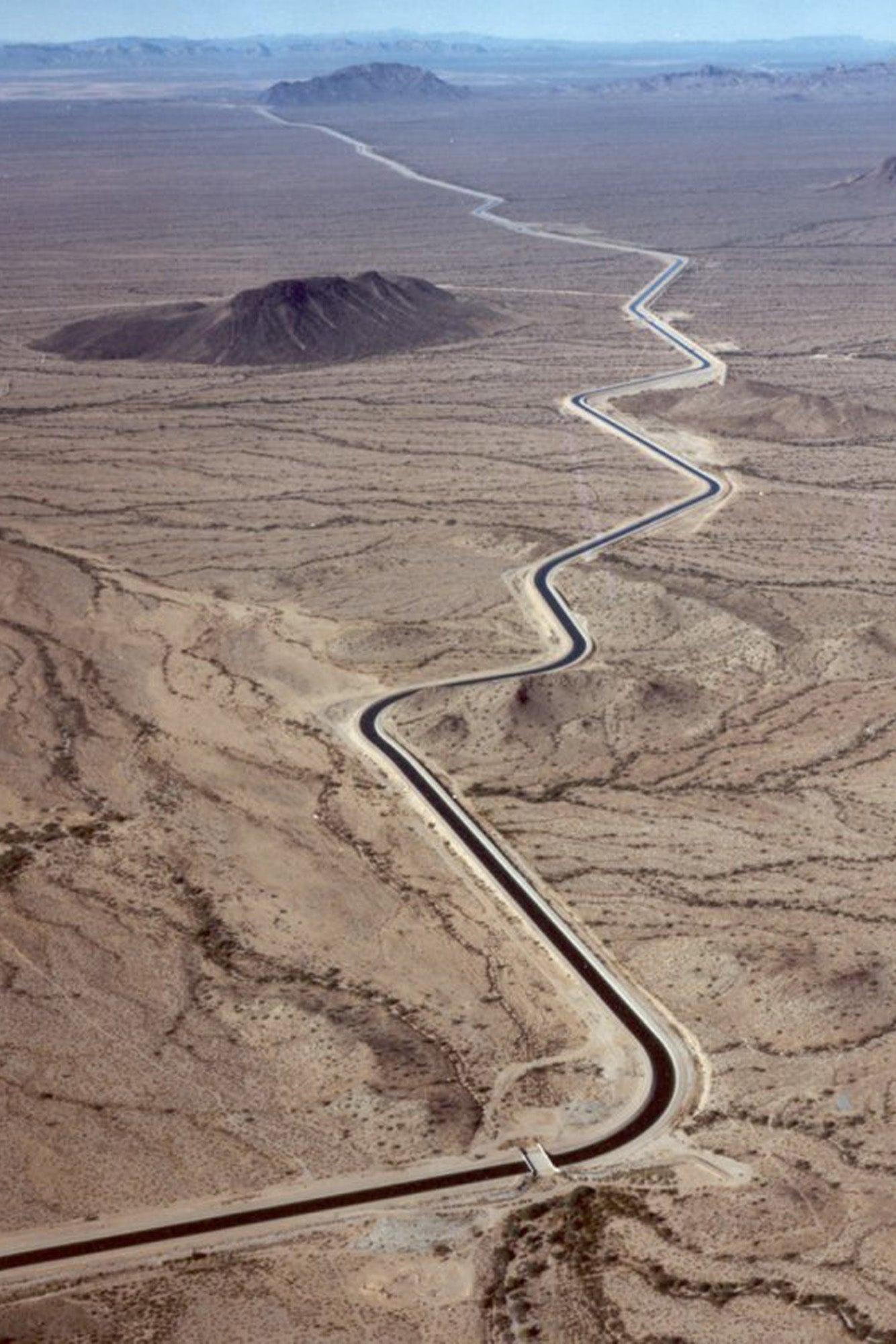 View of water canals near Phoenix