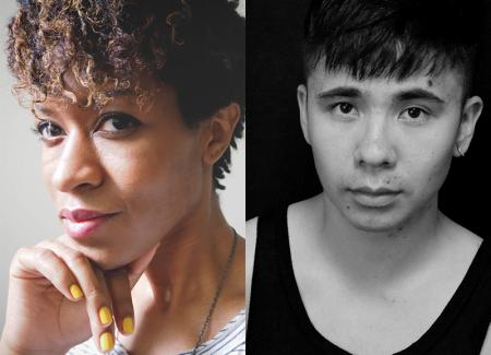 Camille Rankine and Ocean Vuong read their poetry at the Phoenix Art Museum