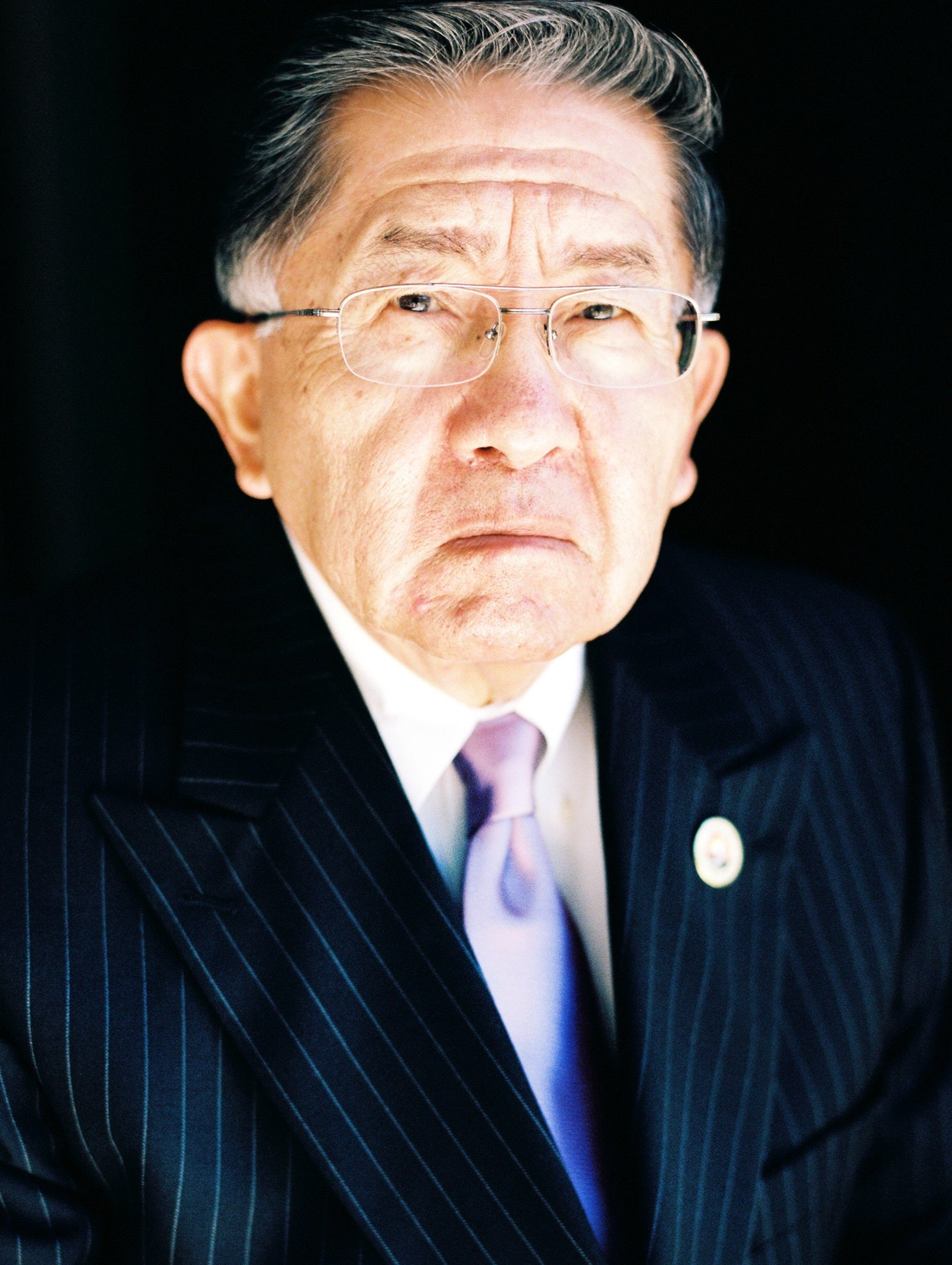 Coushatta tribal leader and activist Ernest Sickey