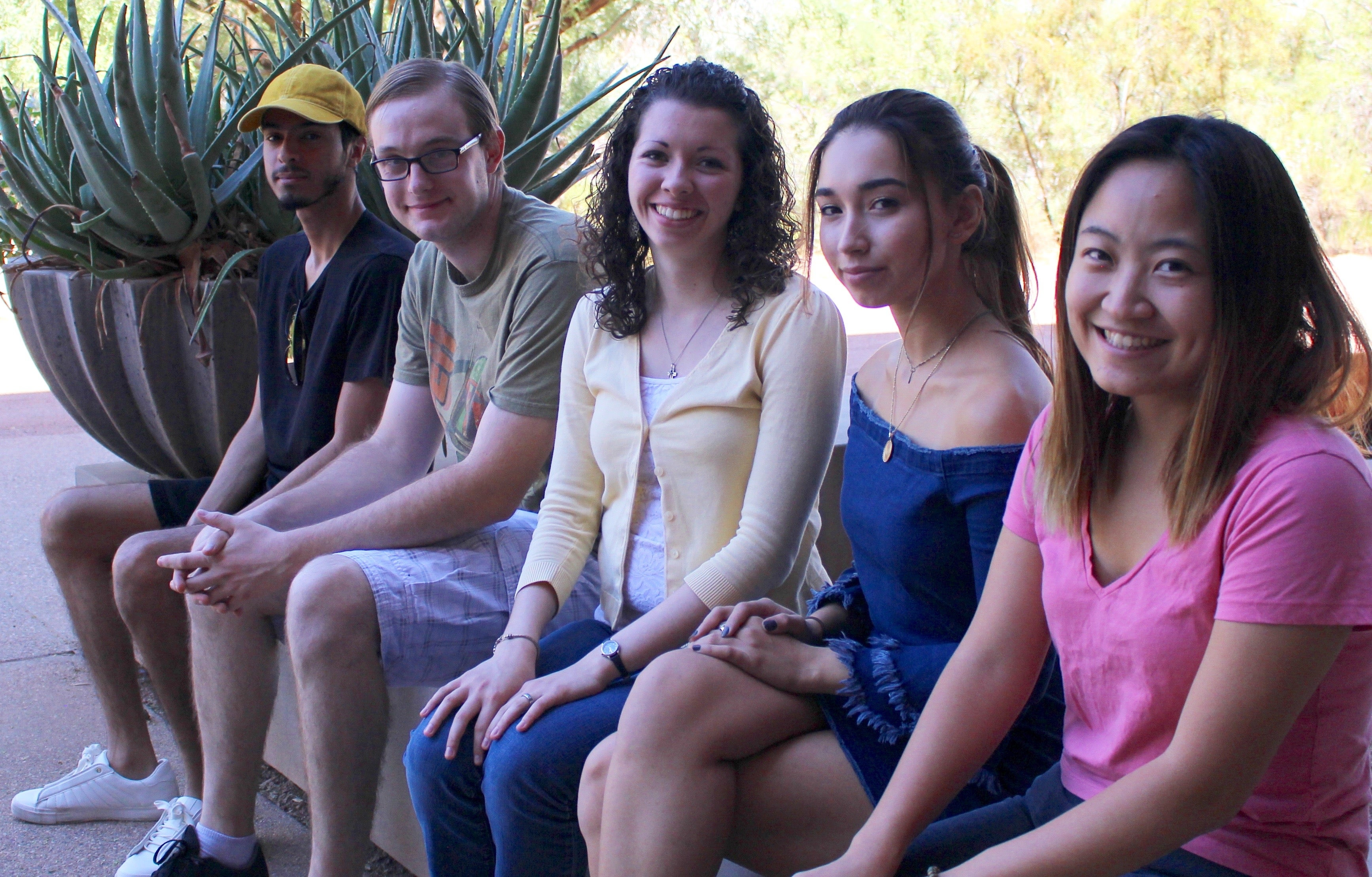 ASU students act as mentors for the Young Authors' Studio workshops at the ASU Polytechnic campus
