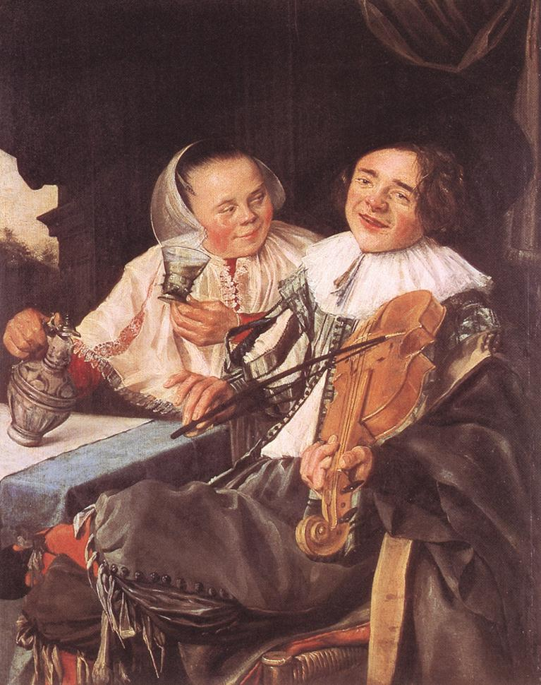 The Happy Couple, 1630, from the Louvre