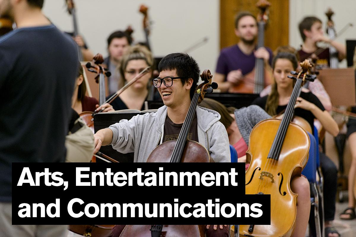Arts, Entertainment and Communications