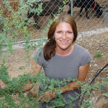 Andrea Blestrud ASU alumna in sustainable horticulture