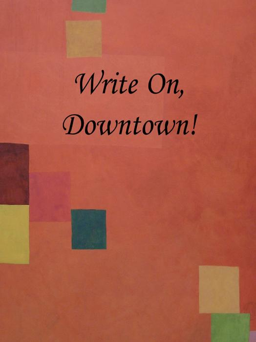 Write On, Downtown issue 2, 2008