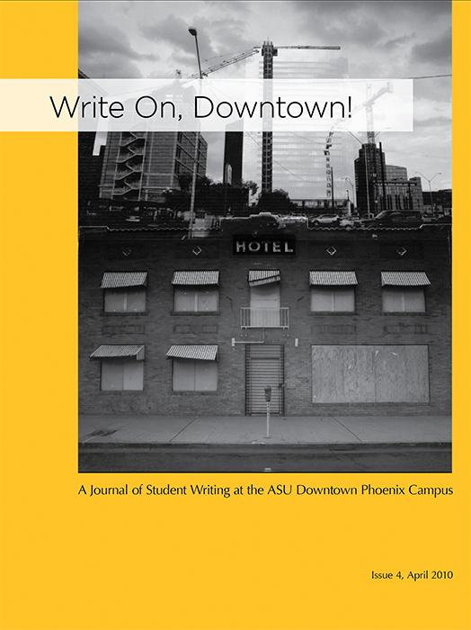 Write On, Downtown issue 4, 2010