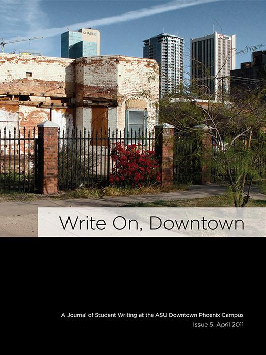 Write On, Downtown issue 5, 2011
