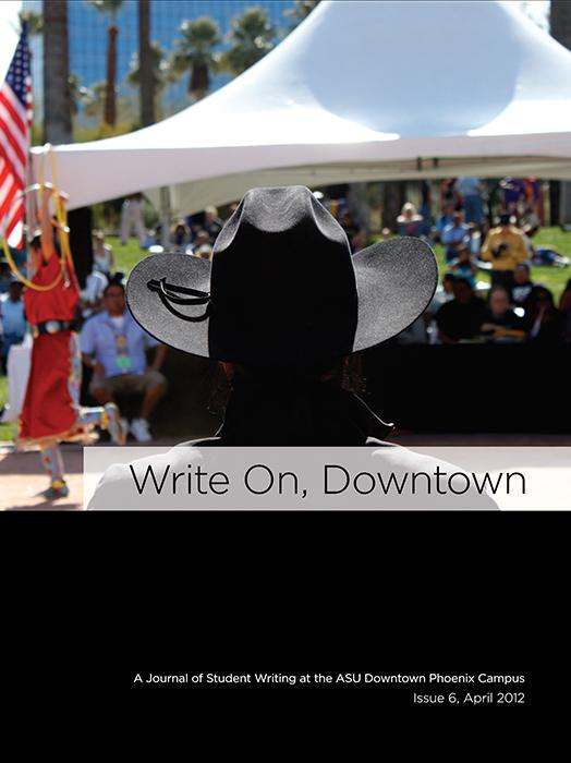 Write On, Downtown issue 6, 2012