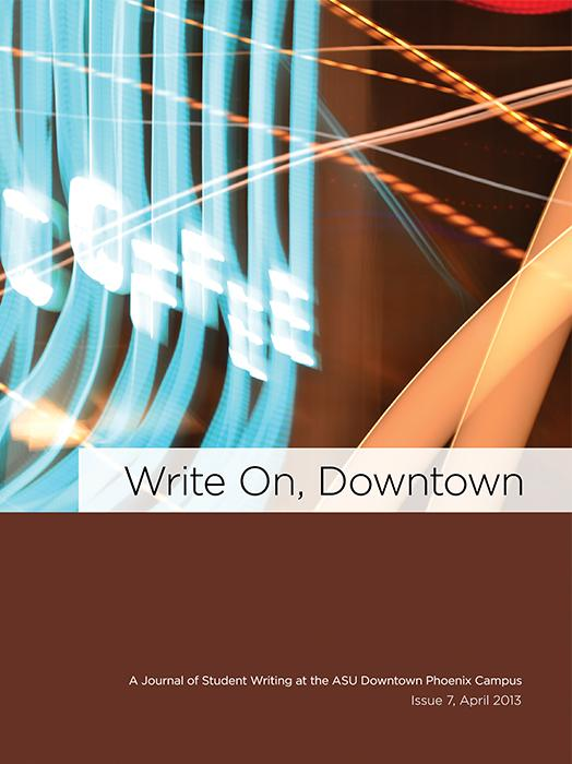 Write On, Downtown issue 7, 2013
