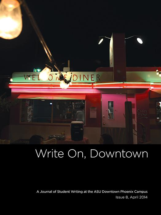 Write On, Downtown issue 8, 2014