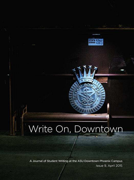Write On, Downtown issue 9, 2015